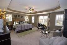 Master Bedroom / Where I put my bed and lay my head. Master bedroom decorating ideas.