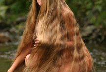 Beautiful young hair