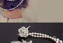 hair accessories for gown