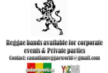 CANADIAN REGGAE EVENT POSTERS / Canadian Reggae Event Posters