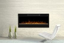 Cozy Electric Fireplaces / These beautiful fireplaces quickly add elegance, flair and warmth to any room.