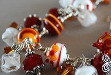 Lampwork jewellery