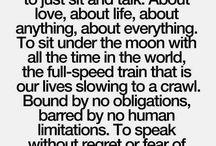 True dat / Words of inspiration, comfort, truth, etc