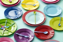 Kids Tableware / Colourful and fun plates, bowls, cups and cutlery etc..