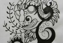 タトゥーのデザイン