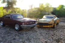 Diecast cars photography