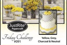 #091 JRC JustRite Color Challenge Yellow and Gray