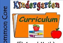 Kindergarten Curriculum BUNDLE - ELA and Math - Common Core / Kindergarten Curriculum  - Common Core. What are kids expected to know for a typical kindergarten curriculum? In kindergarten, the goal is to focus on the fundamentals that will pave the way for a lifetime of learning.  This Kindergarten Curriculum include printables, worksheets, and activities.  Watch the little ones learn and have fun at the same time!  #kindergarten curriculum #kindergarten