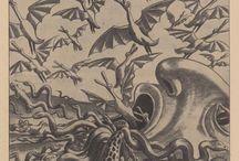 Erich Schilling /  dessinateur caricaturiste allemand. -1885-1945-
