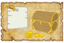 búsqueda del tesoro!