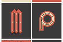 typography / お気に入りの書体だけを集めた。