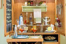 skříně - bar