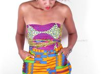 African fashion Summer Shorts and Skirts