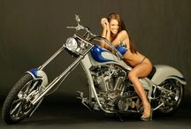 Bikes and Babes / Just some really cool bikes and some really hot babes / by Dave