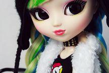 Pullip Dolls and Blythe  / Pullip, Blythe dolls / by Shaina Kannady