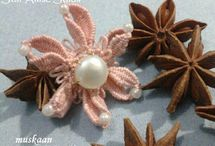 Tatting free pattern - 3D cluny tatting earings