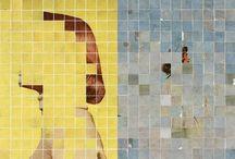 Tile, wall n floor