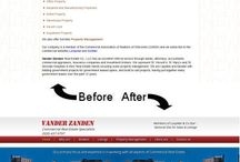 Website Design - Before and After / Here are some examples of Websites redesigned by Virtualtech