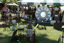 FLEA MARKET FINDS & ANTIQUING TRIPS / My passion, antiquing trips, yard sales and flea market finds from all over the country. / by Debbe Daley