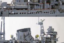 Lego harcos