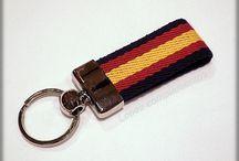 Keychain - Llaveros / Quieres ver llaveros de cuero? de lona? bandera de España?