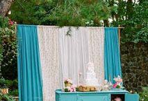decoração chá noivado