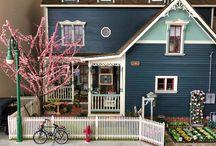 Dollhouse Landscaping Ideas