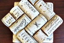 creative with wine corks