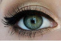 ruskea silmämeikki