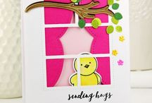 PPP: Storybook 4 Inspiration / A board filled with inspiration using the Pretty Pink Posh die set: Storybook 4