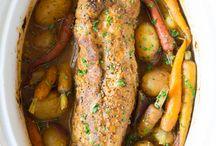 Crock pot pork