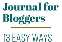 Blog Planninhg / Ideas and spreads for my blog bullet journal