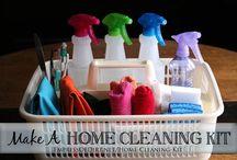 Cleaning / by Jillian Palumbo