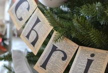 CHRISTMAS: Banners & Garland
