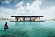 Awesome Architecture  / Dream Home on the water...literally