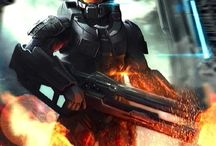 HALO! And RED VS BLUE / This is my Halo fandom board please ask to join feel free to role play chat and pin please no hate