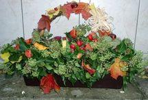 podzimní truhlíky