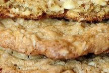 Crispy oatmeal chewy cookies
