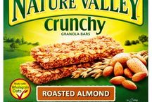 Crunchy Granola Bars with Roasted Almond
