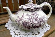 Plates and Tea Pots