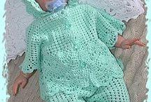 For newborns / Вязаные модели для самых маленьких