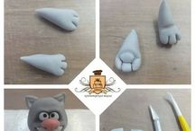 Polymer clay / Thermosetting clay crafts like polymer clay,  #oyumaru, epoxy putty crafts, silicon rubber and putty