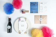 wedding invitations / modern wedding invitations.  We design it <3
