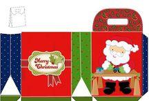 joulupussukat/lahjapakkaukset
