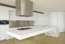 mirror kitchen plinth