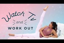 Quick Exercises / Quick exercises for busy women who work from home. Beginners yoga. Simple Pilates moves. Stretches for tight hips. Exercises to promote deeper sleep.