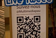 """Conférence """"Média & réseaux sociaux Quelle stratégie ?"""" / 11ème rencontre du multimedia - février 2012 / by christophe blazquez"""