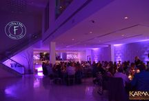Lighting / Choosing the right lighting for your event can really create a WOW factor for your big day! We recommend Karma Event Lighting for all of your lighting needs.