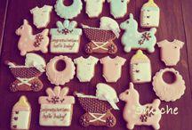 出産祝いクッキー