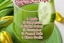 Juice / Juice recipes for when you need extra vitamins and minerals or when you need to use fruits and vegetables before they go bad. / by Bonnie Chretien